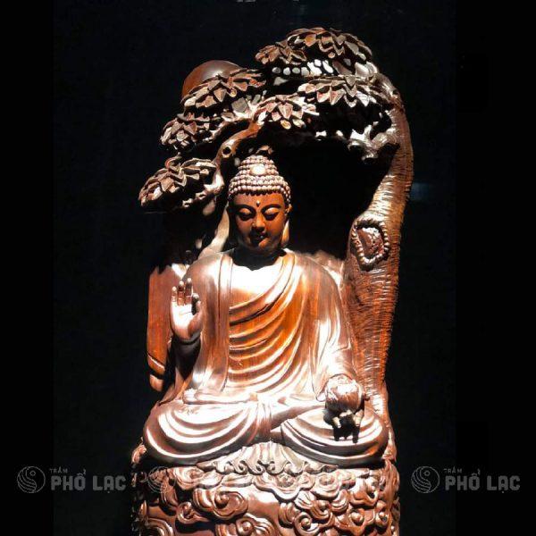 Phật tổ ngồi gốc Bồ đề